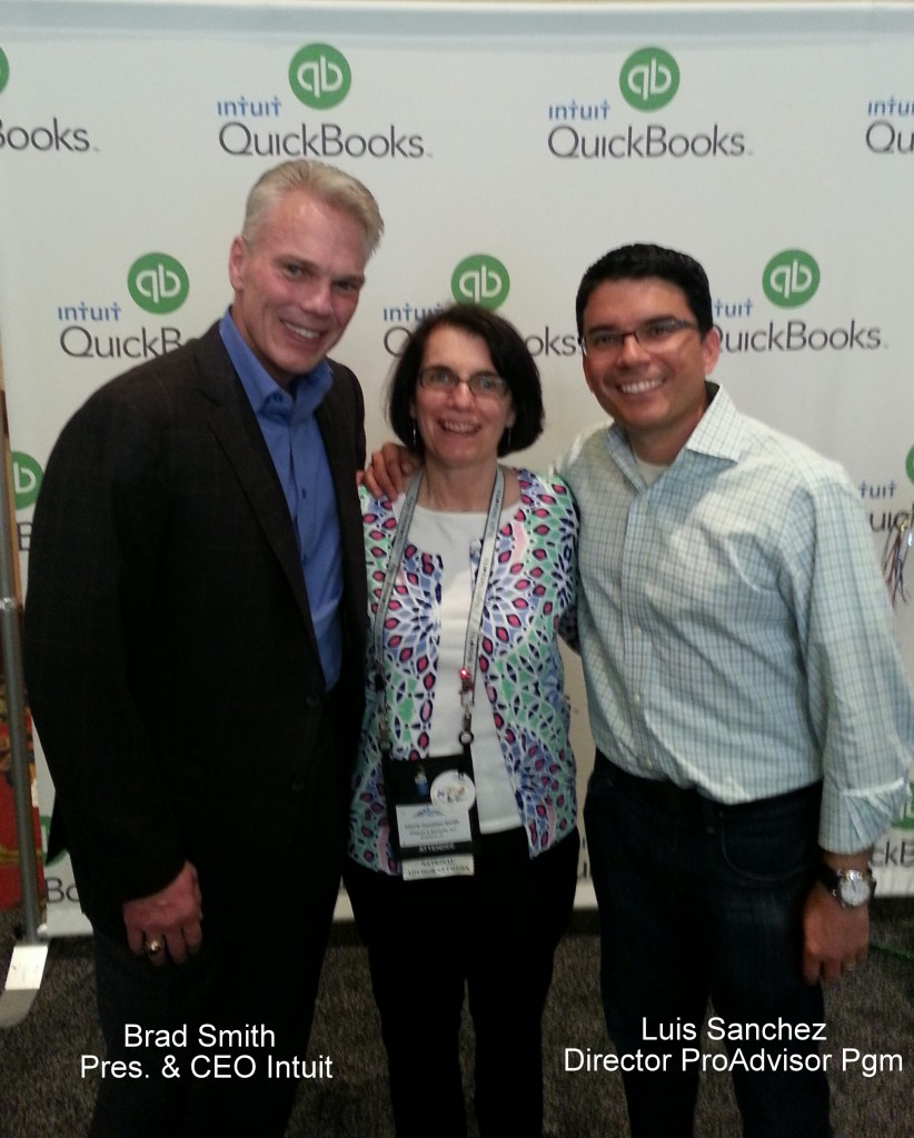 at Intuit Scaling New Heights 2014 with Brad Smith and Luis Sanchez